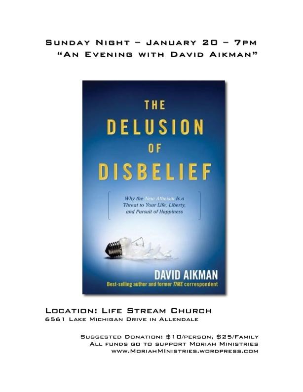 David Aikman Poster