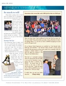 April News - 2