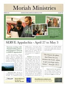 Spring Newsletter - 1