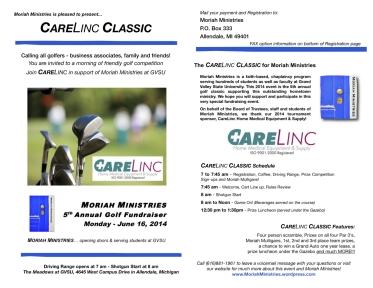 Carelinc Info webpage