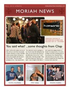 Fall News 2014 - 1