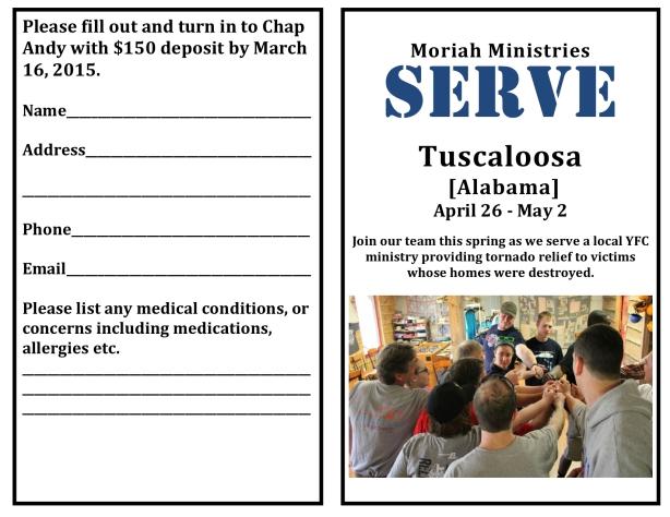 Serve Tuscaloosa - 1