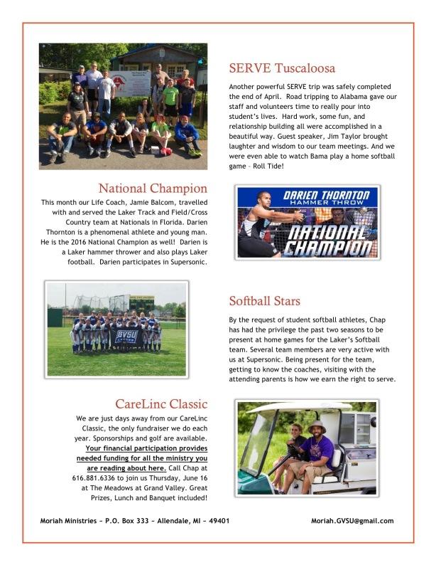 Spring Newsletter - 2
